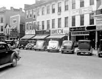 "1938 Downtown Circleville, Ohio Vintage Photograph 8.5"" x 11"" Reprint"
