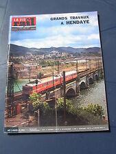 vie du rail 1975 1483 HENDAYE CANNES LANGRES POINSON BENEUVRE QUIMPER PONT CHÂTE