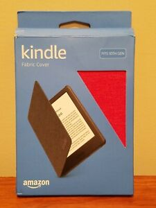Amazon Kindle 10th Gen Fabric Cover - Red