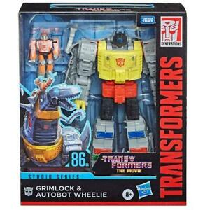 Transformers Studio Series 86-06 Grimlock & Autobot Wheelie Leader Class Figures