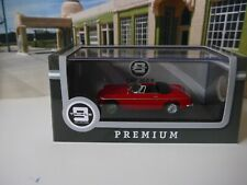 Triple 9 Collection 1964 MG B Convertible - Red Diecast Model Car 1 43