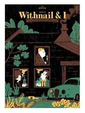 WITHNAIL AND I NIGHT FILM POSTER LTD SCREEN PRINT IKER AYESTARAN RICHARD E GRANT