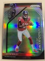 2018 Panini Prizm Rookie Introduction Prizms #9 Calvin Ridley RC Falcons