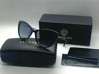 Versace VE4348 52301G Sunglasses BLUE 57-17-140mm NIB ITALY