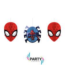 Amscan International 291355 Spiderman Honeycomb Decoration Kit
