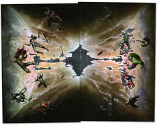 serie Avengers IL TEMPO CHE FINISCE completa 1/2 VARIANT - Ed. Marvel NOW Panini