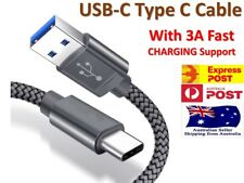 USB Type C Fast Charger Charging Data Cable Pixel 4 Samsung Google Oppo Nokia 7