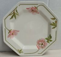 Johnson Bros Spring Morning Octagonal Dinner Plate c1984 Made In England 25.5cm