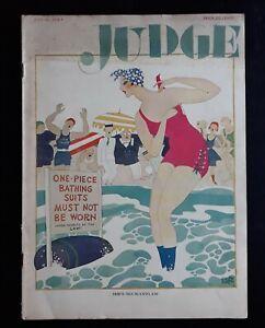 Ralph Barton Art Deco Bathing Beauty Judge Humor Magazine 7/26 1924 Full Issue