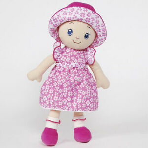 """Madame Alexander 14"""" Cloth Snuggle Play Doll # 69100 - New with Tags"""