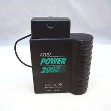 Avon POWER 2000: RICH WOOD Hair & Body Cleanser 7.0 oz 200 ml NEW NWOB