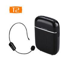 T2 10W Wireless Voice Booster Amplifier Speaker Device +headset Microphone Set