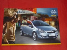 Opel Corsa D base Edition sport Cosmo GSI folleto de 2008