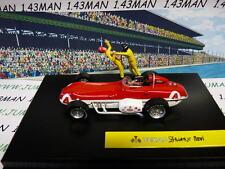 MV32R voiture altaya IXO 1/43 diorama BD  MICHEL VAILLANT : TEXAS Driver's NOVI