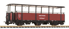Liliput H0e 344412 Narrow Gauge Scenic Carriages No. 2 Dr Ep2 Brown