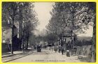 cpa 92 - SURESNES (Hauts de Seine) Le Boulevard de VERSAILLES Animé Automobile