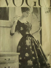 1957 Vintage VOGUE Sewing Pattern B36 DRESS (1590) By Ronald Paterson