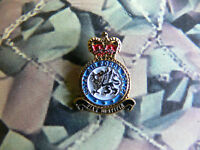 Royal Air Force POLICE Enamel Lapel Badge RAF