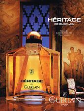 PUBLICITE ADVERTISING 074  1993  GUERLAIN   pour homme  senteurs