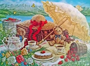 A Beary Nice Picnic Teddy Bears