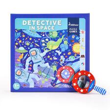 Mideer Detective In Space Floor Puzzle Educational Toy