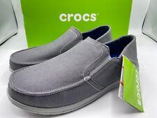Crocs Santa Cruz Convertible Men's Shoes Size 10 Triple Comfort Grey New in Box!