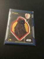 2020 Star Wars Holocron Commemorative Creature Patch Jawa Obi-Wan Kenobi Blue 50