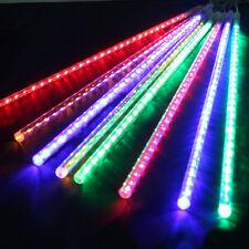 RGB 50CM 240 LED Meteor Shower Rain String Light Waterproof Xmas Tree Decor US