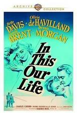 In This Our Life DVD (1942) - Bette Davis, Olivia de Havilland, George Brent