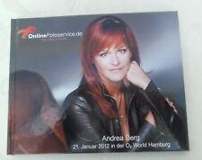 Andrea Berg Fotoalbum v Tournee Abenteuer 2012 Hamburg  O2 Areana Fanartikel