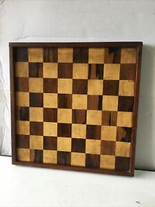 """Vintage Wooden Chess Board 16 """" x 16 """""""