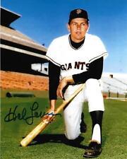 Hal Lanier San Francisco Giants Signed 8x10 Photo #2 w/COA