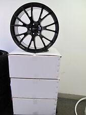 "22"" Jeep Grand Cherokee SRT Durango 4 Wheels Rims Hellcat Style Gloss Black"