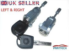 VW PASSAT LUPO, SEAT AROSA COMPLETE DOOR LOCK SET + 2 KEYS FRONT RIGHT and LEFT