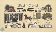 Cross Stitch Chart / Pattern ~ Told In A Garden Amish Farms Bird in Hand #TG16