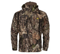 (Size: M) Scent Blocker Outfitter 3 n 1 System Waterproof Jacket Mossy Oak Camo