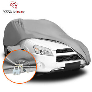 YITAMOTOR Car Cover Waterproof All Weather Protection Outdoor Scratch Resistant