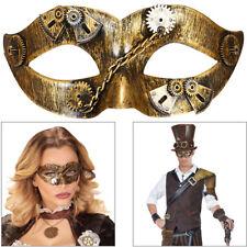 STEAMPUNK MASKE Fantasy 19. Jh. Maskerade Augenmaske Kostüm Party Zubehör 09646