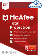 McAfee Total Protection 2020 Unlimited Devices 2 years(WIN,MAC,IOS,Android)