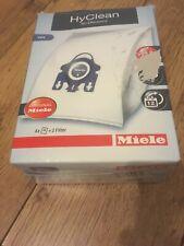 Miele GN Hyclean 3D Efficiency Vacuum Hoover Cleaner 4x Dust Bags & 2 Filters.