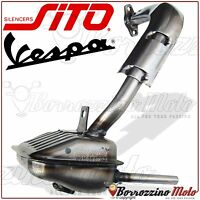 SILENCER EXHAUST APPROVED LEOVINCE SITO PIAGGIO VESPA 50 SPECIAL V5B3T 1975-1983