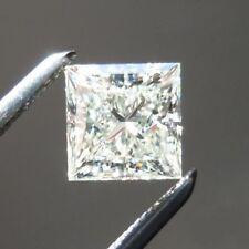 MOISSANIT - DIAMANT - PRINCESS LOSE 1,80 Karat VVS1 Weiss Farbe G - H - 7,10mm