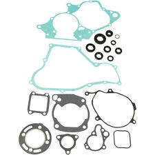 Moose Racing Gasket Kit Set w Oil Seals Honda 1986-1991 CR80R M811205
