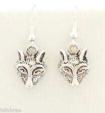 Wolf Head Earrings I Wolves Earrings