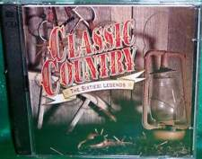 NEW RARE OOP TIME LIFE CLASSIC COUNTRY SIXTIES LEGENDS 2 DISC MUSIC CD 30 TRACKS