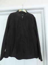 **NEW** Brown Zip Up Fleece Jacket BNWT Size XL
