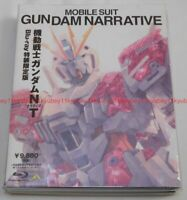 Mobile Suit Gundam Narrative NT First Limited Edition 2 Blu-ray CD Booklet Japan