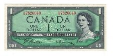 Canada 1954 $1 Bank of Canada Banknote H/M #2
