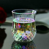 Colorful Wine Glass Glowing Pineapple Induction Transparent Crystal Cup