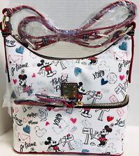NWT*Dooney & Bourke*Disney*Love Letters*Sweethearts*Pocket Sac Shoulder Bag*